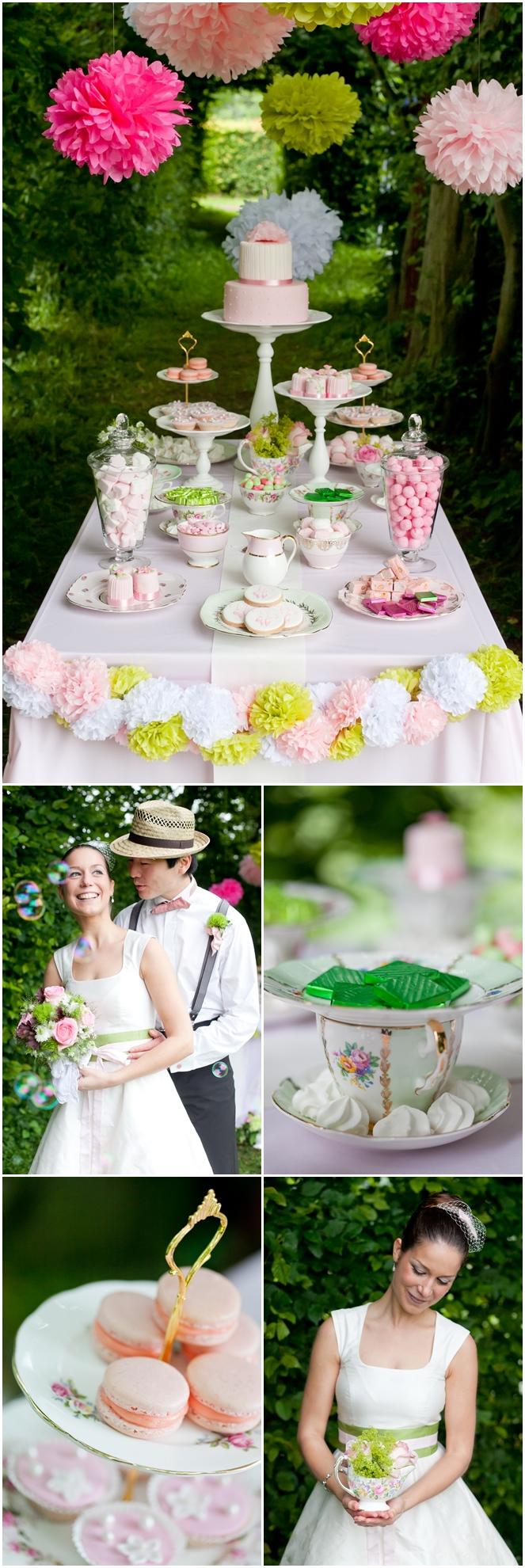 Lieschen und Ruth Vintage-Sweet-Candy-Table