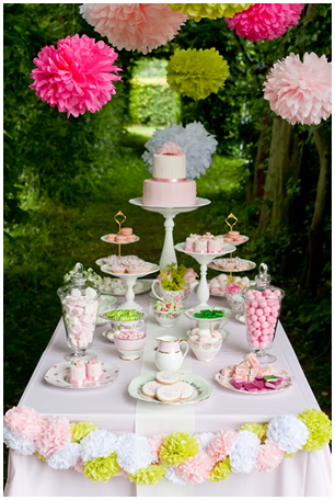 Lieschen und Ruth Sweet Candy Table