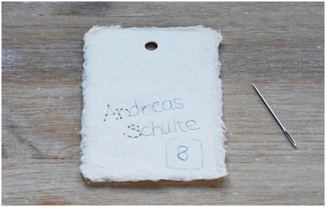 Lieschen und Ruth Vintage Escort Karten DIY 3