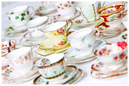 Lieschen und Ruth Vintage Porzellan